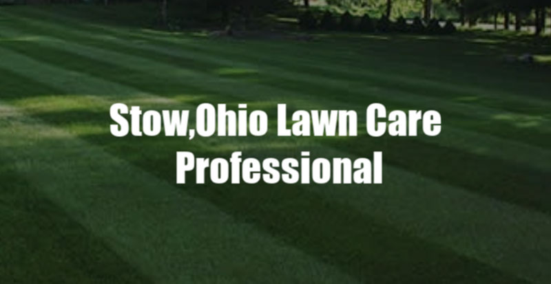 Stow, Ohio Lawn Care Professional